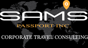 Sam's Passport Inc Corporate Travel Consulting logo
